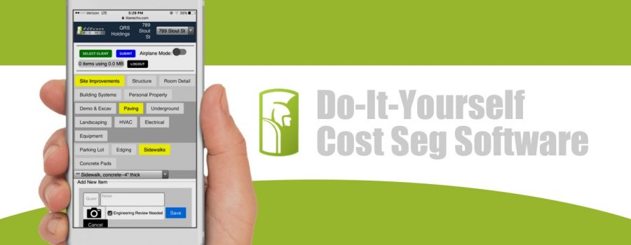 Do-It-Yourself Cost Segregation Software